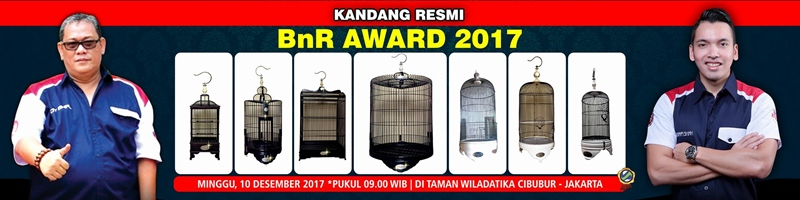 kandang resmi BnR Award 2017