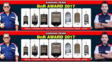 kandang-sangkar khusus BnR Award 2017