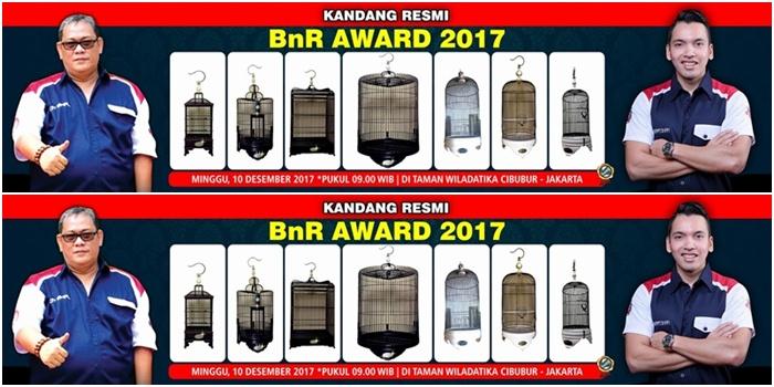 BnR Award Kandang Seragam BnR