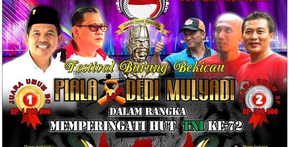 Daftar Juara Kang Dedi Mulyadi Cup – Purwakarta 2017