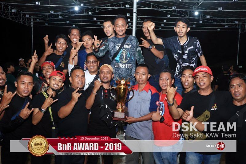 Kolaborasi DSK Team Raih Runner Up BC di BnR Award
