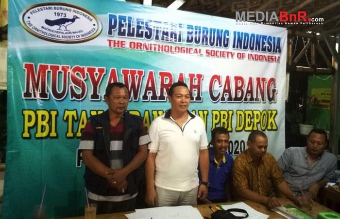 (ki-Ka) Bambang Pramudi Ketua PBI Depok dan Mr. King Ketua PBI Tangerang