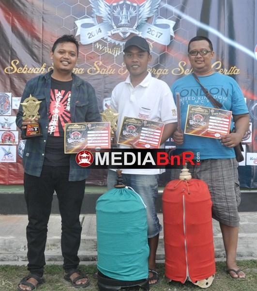 kicau mania baru Kidul Pasar Sentul berjaya di event KNI-Y