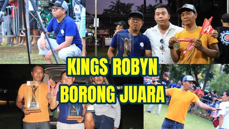 King' Robyn : RANCAP KEMBALI JUARA, KING'S SILVER MURAI MUDA PRESTASI DOUBLE WINNER