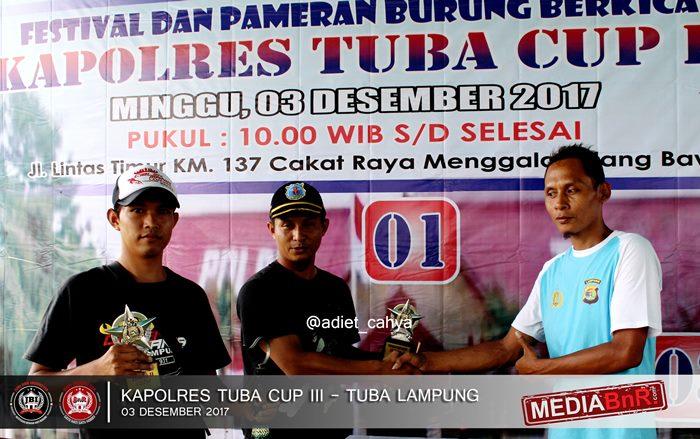 komunitas Ciblek Mania Lampung raih juara digelaran Kapolres Tuba Cup III