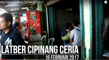 latber cipinang ceria 16 februari 2017