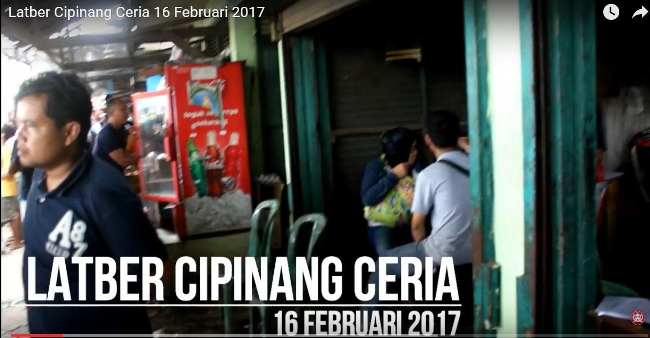 Latber Cipinang Ceria, 16 Februari 2017