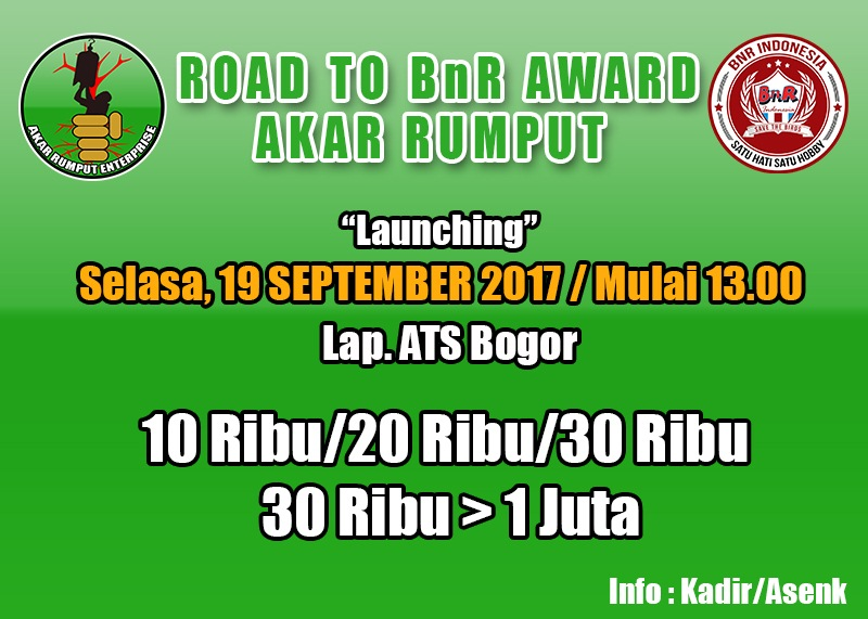 launching akar rumput