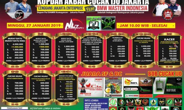 New Lenggang Jakarta Gelar KOPDAR AKBAR CUCAK IJO