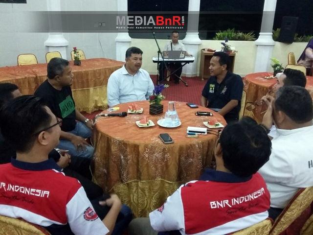 Makan malam bersama Walikota Solok