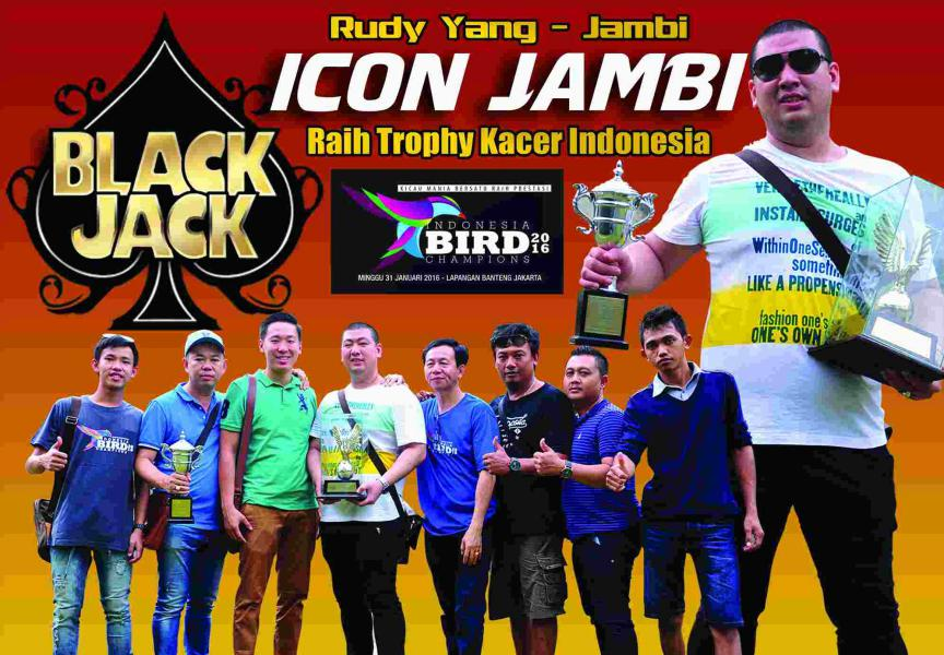 Black Jack Raih Trophy Kacer Indonesia