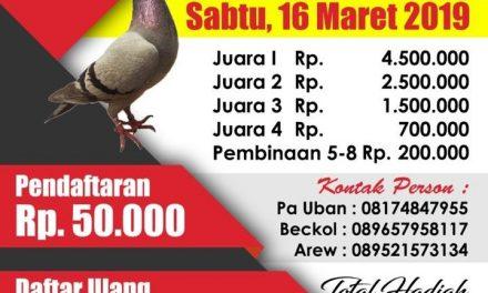 BnR MERPATI INDONESIA MULAI GERAK