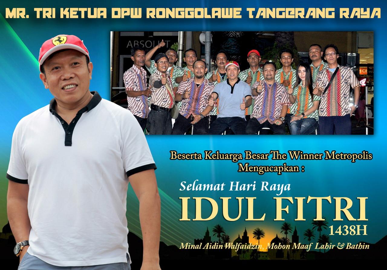 Mr. Tri : Selamat Hari Raya Idul Fitri 1438H