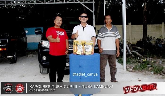 murai batu Virus rai double winner di event Kapolres Tuba Cup III