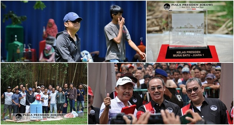 Boyong 1 Unit Mobil di Piala Presiden, Murai Batu Hummer Masih Jadi Bintang di Jaman Now
