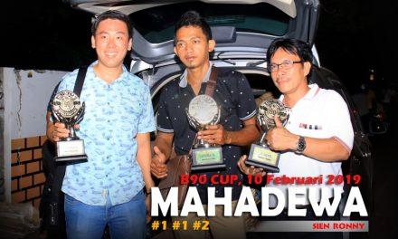 NYARIS HATRIK! MAHADEWA BOYONG KELAS TERBAIK DI B 90 CUP