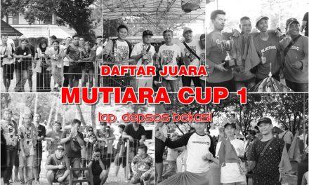 Daftar Juara Mutiara Cup 1