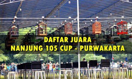 Daftar Juara NANJUNG 105 CUP (3/2/2019)