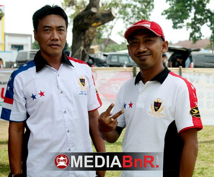 om Heri Setiadi dan pengurus Oriq Jaya Lampung