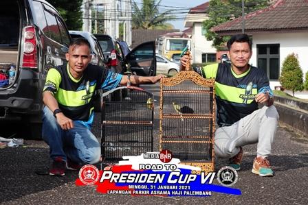 KRESNA DAN RAJA PESONA UJI KUALITAS DI ROAD TO PRESIDEN CUP VI PALEMBANG
