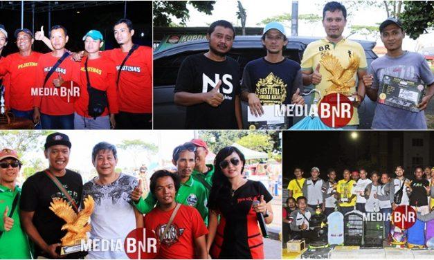 Bromo, Satria, The Rock Berbagi Podium Juara Di Murai Batu, AH BF Dan Karawang Team Juara Umum
