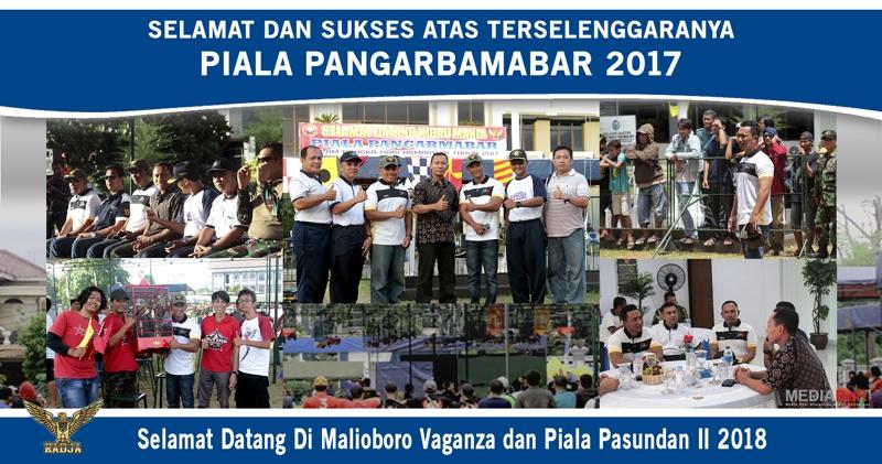 Selamat dan Sukses Atas Terselenggaranya Piala PANGARMABAR 2017