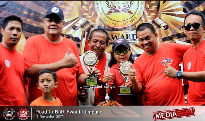 1020 Peserta Bersaing Merebut Prestasi Road to BnR Award Lampung Sajikan Persaingan Sengit Kicau Mania