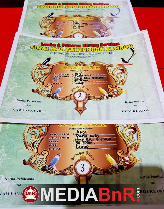 Murai Batu Anji Amunisi Poetra Mas 88 Team Kokoh Di Tahta Juara