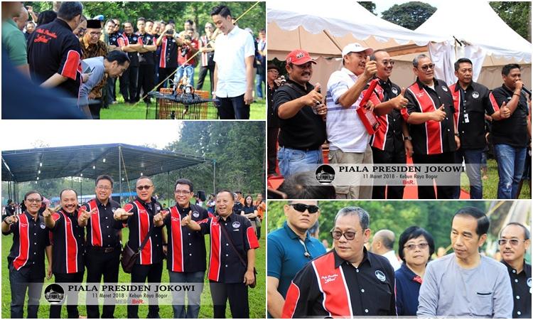 "Presiden Jokowi Buka Lomba, The Legend ""Hummer"" Boyong 1 Unit Mobil"