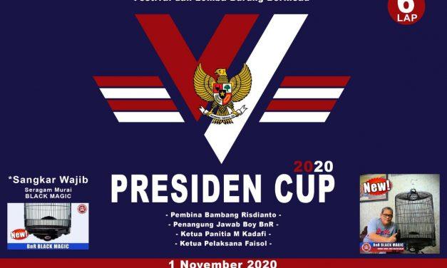 PRESIDEN CUP VI 1 NOVEMBER 2020