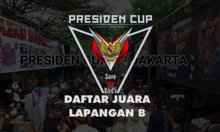 DAFTAR JUARA PRESIDEN CUP V – LAPANGAN B