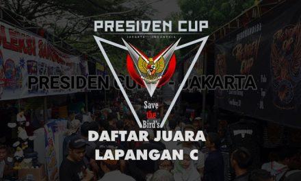 DAFTAR JUARA PRESIDEN CUP V – LAPANGAN C