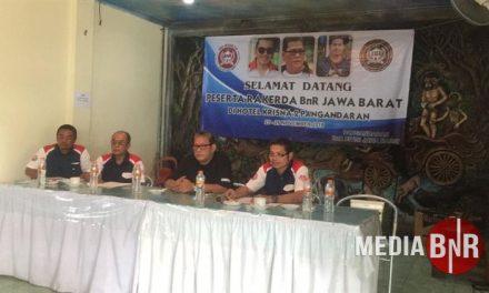 Rakerda Jabar H. Mungin Terpilih Ketua Regional BnR Jabar