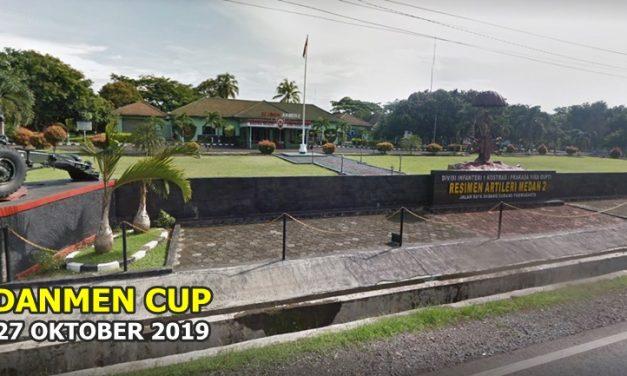 DANMEN CUP : Akan dibuka dengan Upacara Militer dan Pameran Alutsista