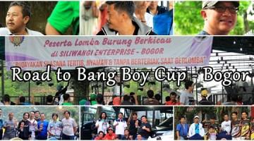 road to bang boy cup bogor 19 februari 2017