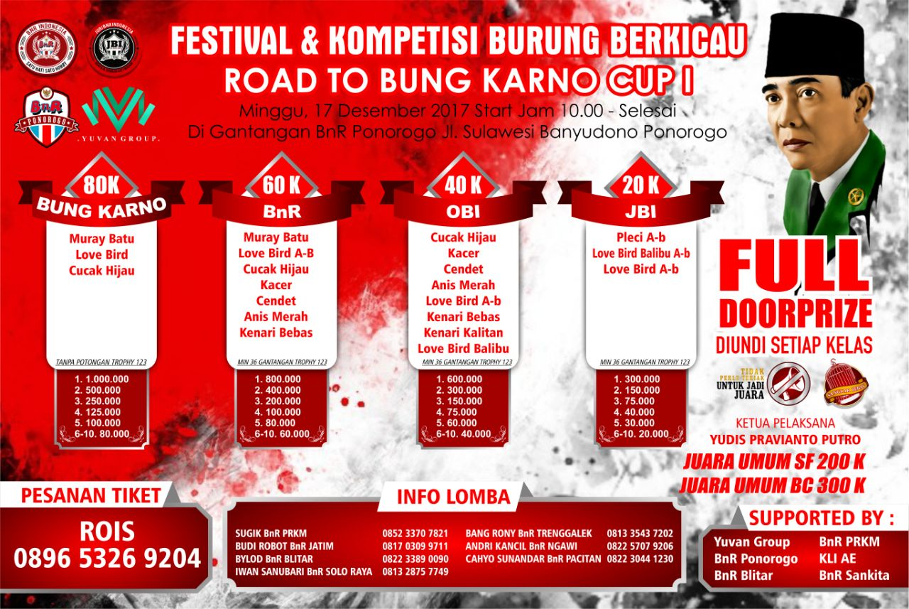 road to bung karno cup