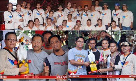 Royal Cup XVIII Jakarta – Dihadiri Ribuan Kicaumania, Murai Batu Hummer dan MS Jadi Bintang di Kelas Utama Royal Cup 2018