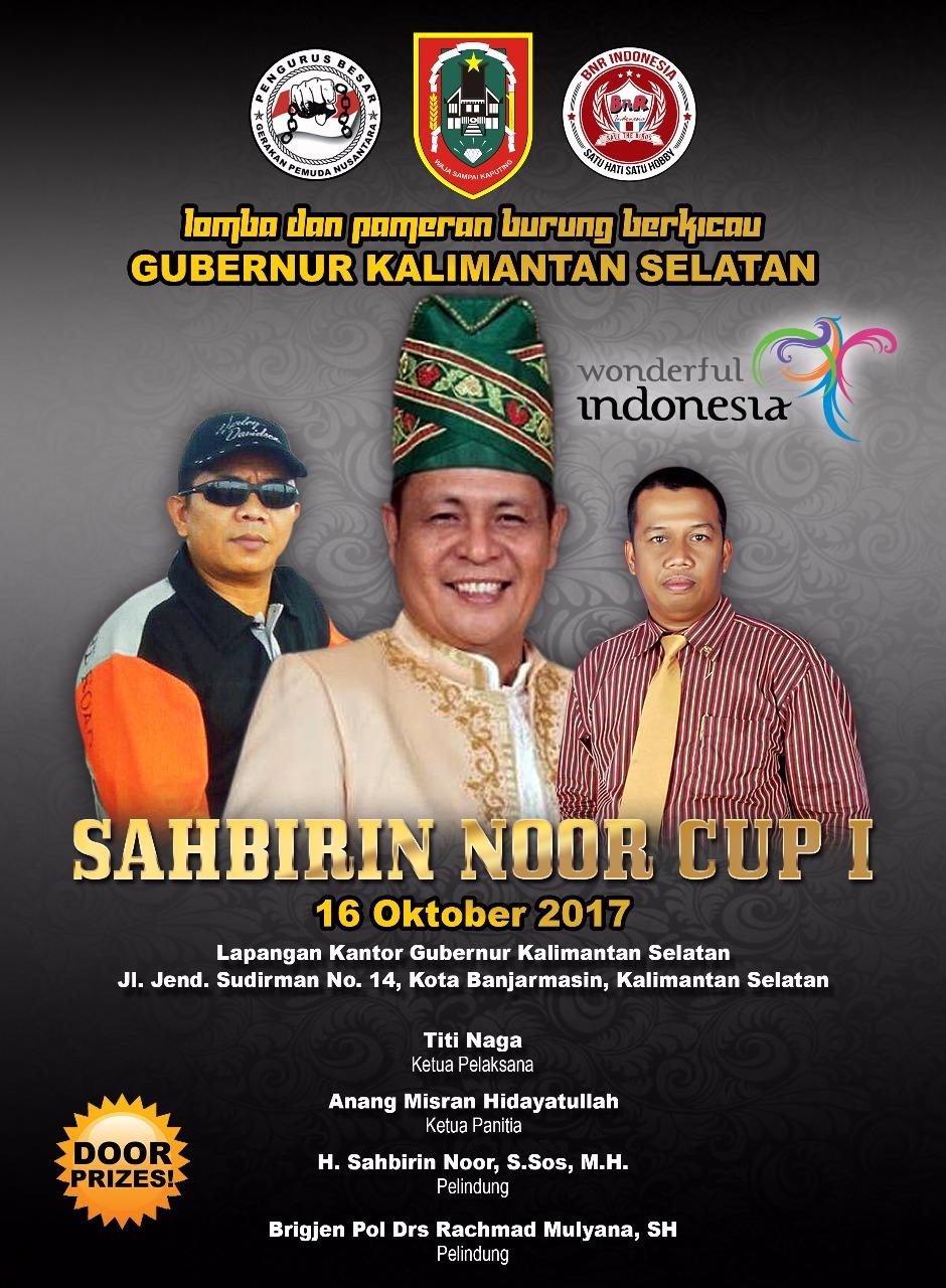 SAHBIRIN NOOR CUP I, 15 Oktober Banjarmasin