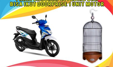 Kandang Love Bird Natural Doorprise Motor di Bandung