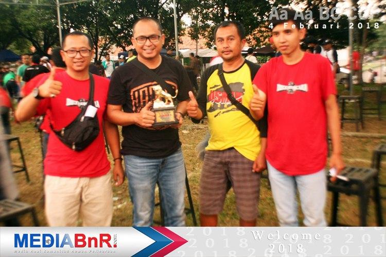 setelah even Batavia Cup, kembali Carox milik H. Ridwan dari Bandoeng Joeara rebut juara ke-1 di murai batu Flamboyan Aa_Aa BC Cup I