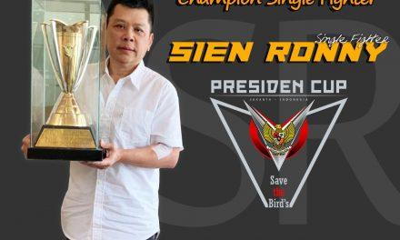 SIEN RONNY SF Catat Sejarah Juara SF di Presiden Cup V