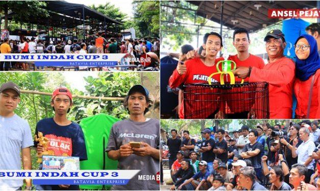 1280 Kontestan Sukseskan Bumi Indah Cup 3