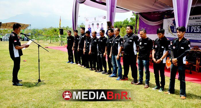 sumpah Juri BnR Indonesia kegiatan yang selalu dilakukan JBI sebelum bertugas