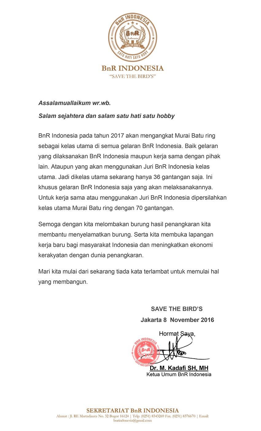 surat ketua bnr indonesia kadafi2