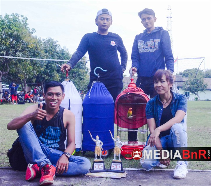 tim Ifan Jaya Sf sukses hantar lovebird INTAN hingga raih juara 1 BoB lovebird