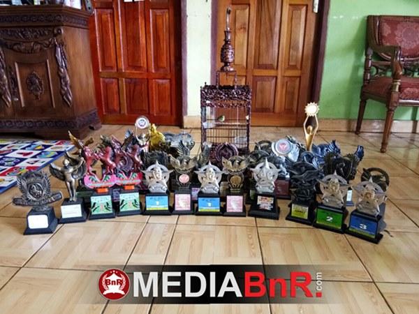 trophy yang behasil diraih Telolet dalam kurun waktu kurang dari setahun