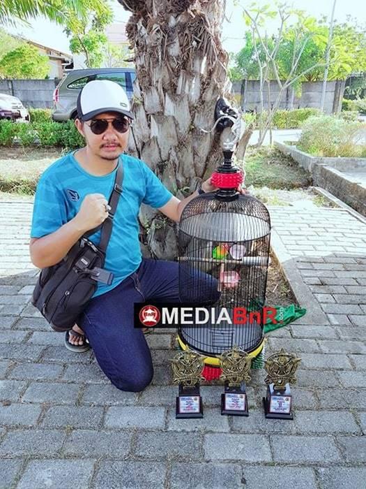 trophy yang diraih Jampang di event RI