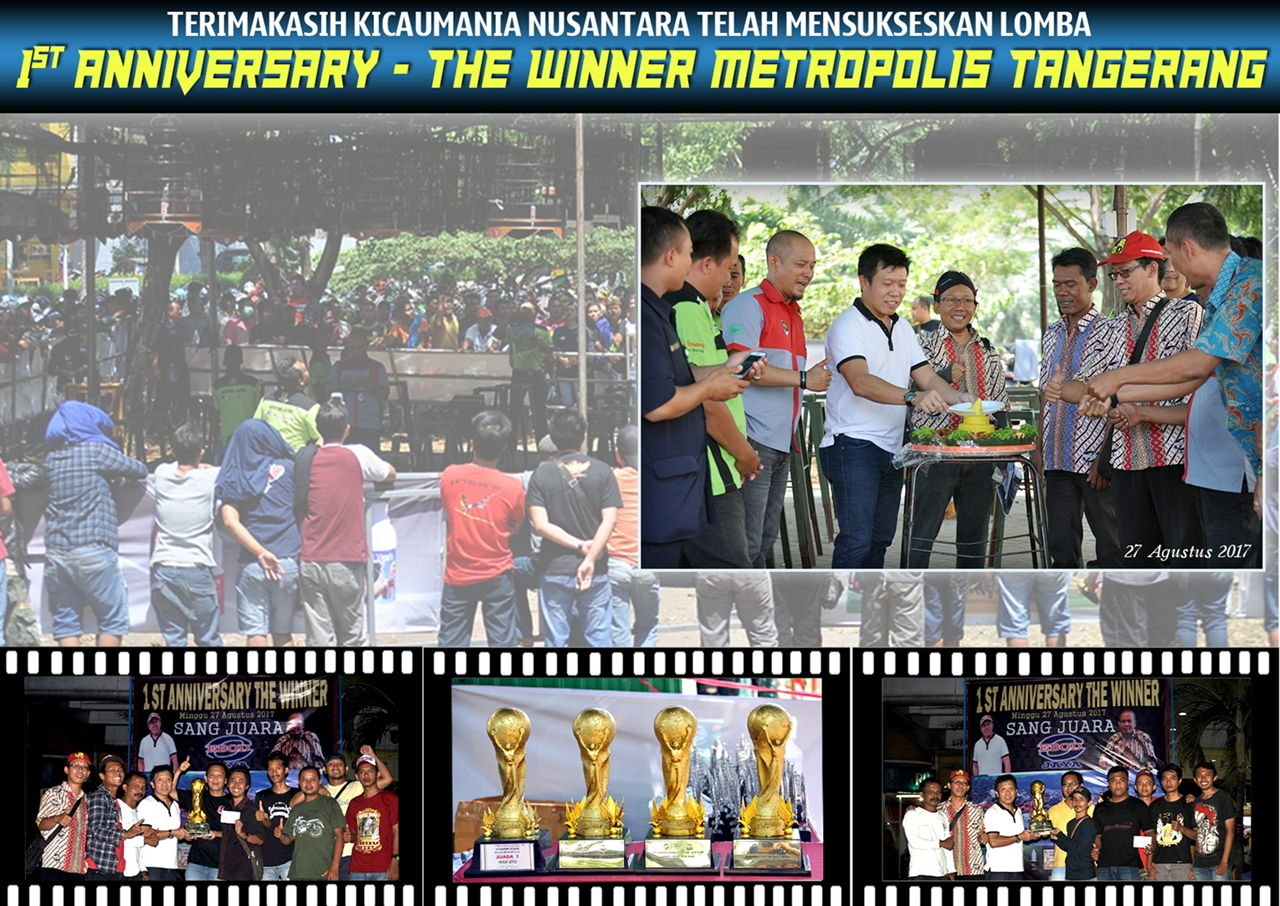 ucapan 1st anniversary the winner metropolis