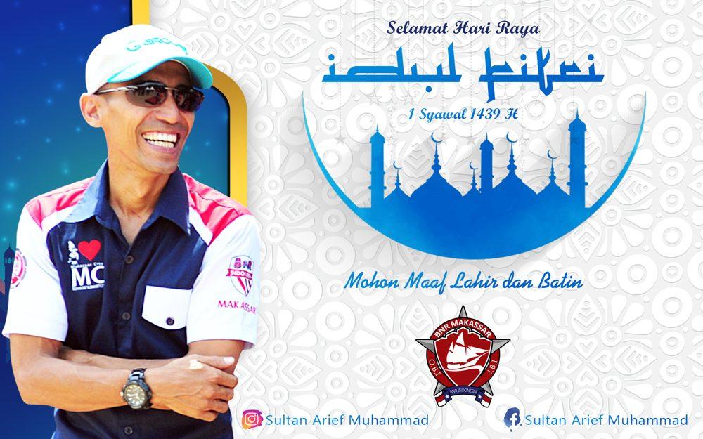 Sultan Arif Muhamad – Ketua BnR Makassar