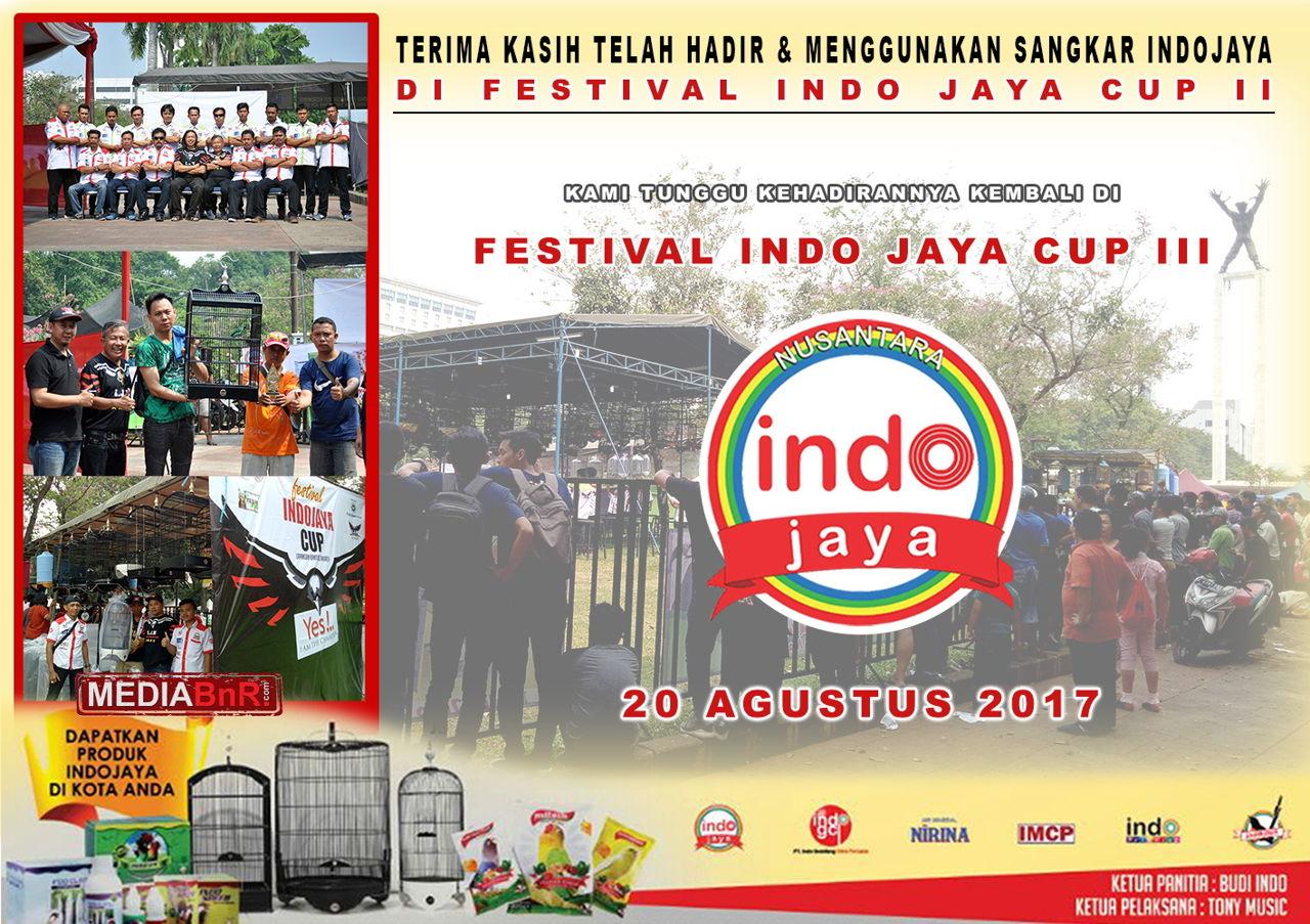 """Terima Kasih Kicaumania Telah Mendukung """"INDO JAYA CUP II"""""""
